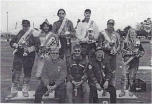 Siegerfoto der B-Liz. Swg.-Klasse aus dem Jubiläumsrennen 2000