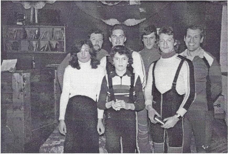 Preisträger der Skimeisterschaft am Nesselwängle 1979