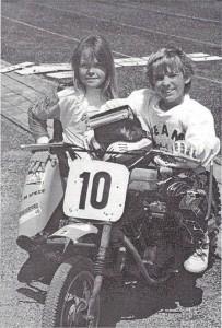 erstes AMCH Jugendgespann, Michaela Wurzler und Thomas Scheunemann .