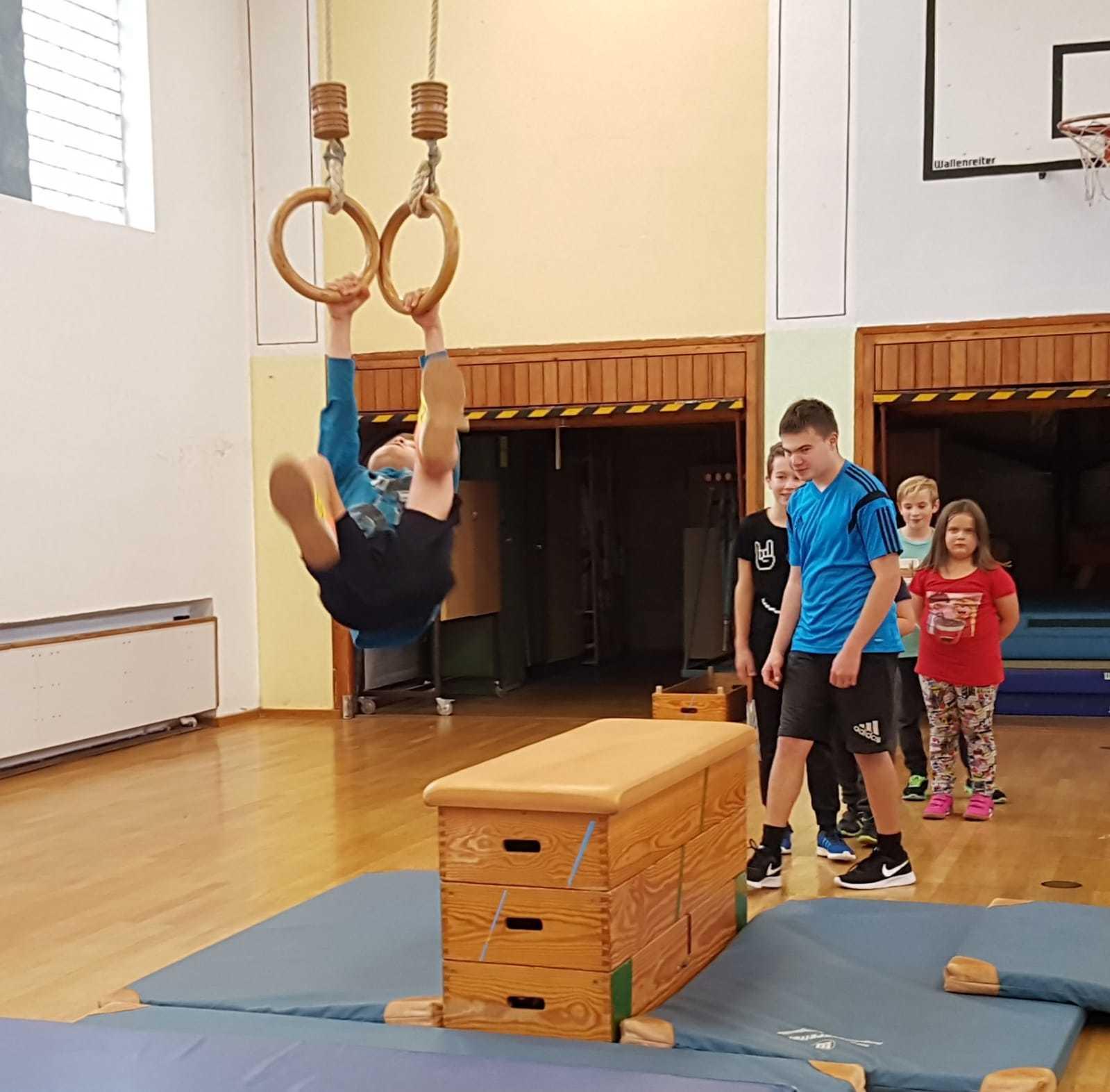 erstes Hallentraining der Jugend des AMC – Haunstetten 2018