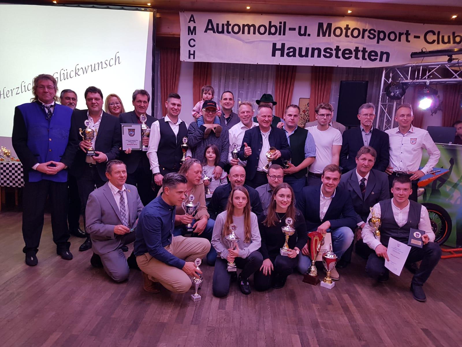 AMC-Haunstetten feiert Jahresabschluss 2018.